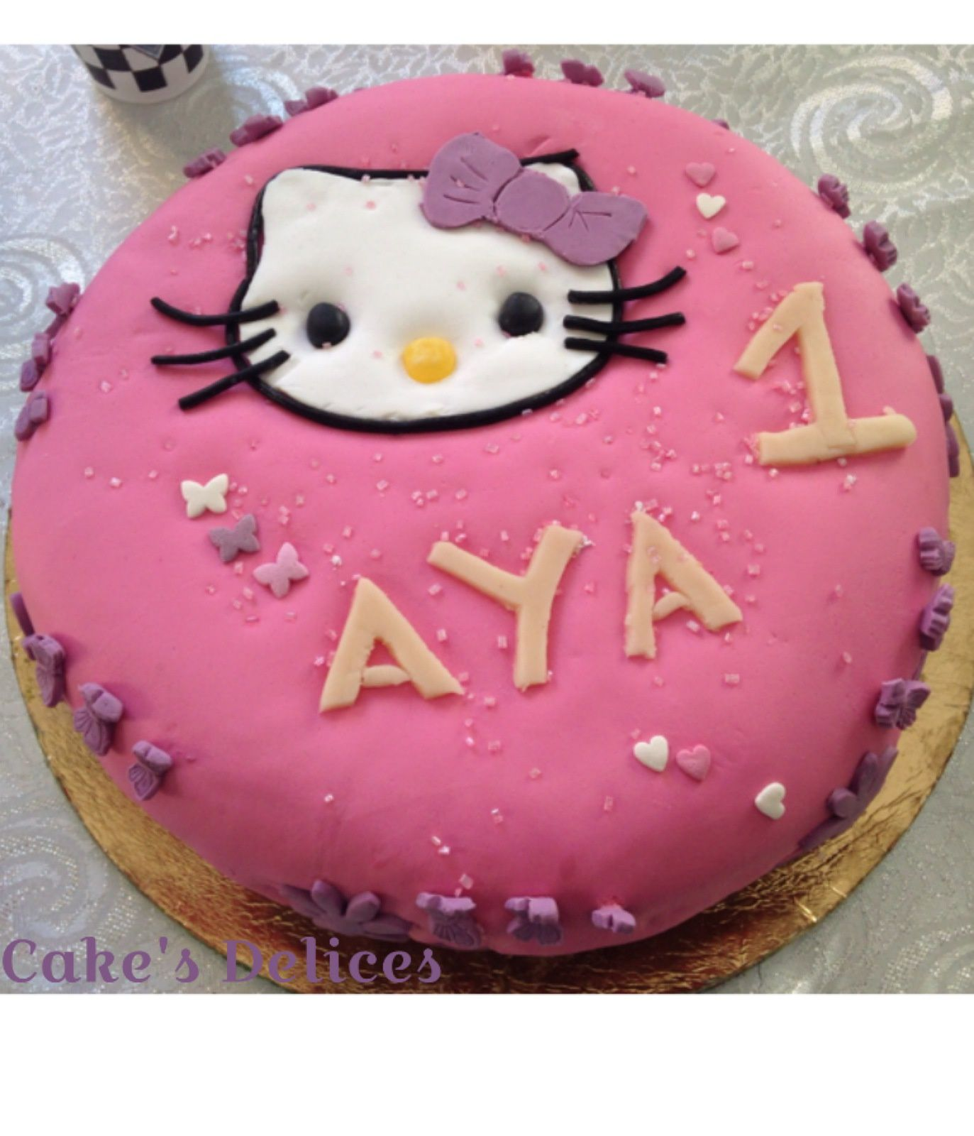 Gâteaux Anniversaire Hello Kitty