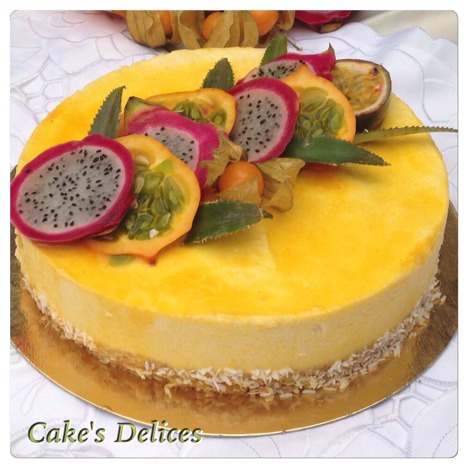 Entremet Fruits Exotique
