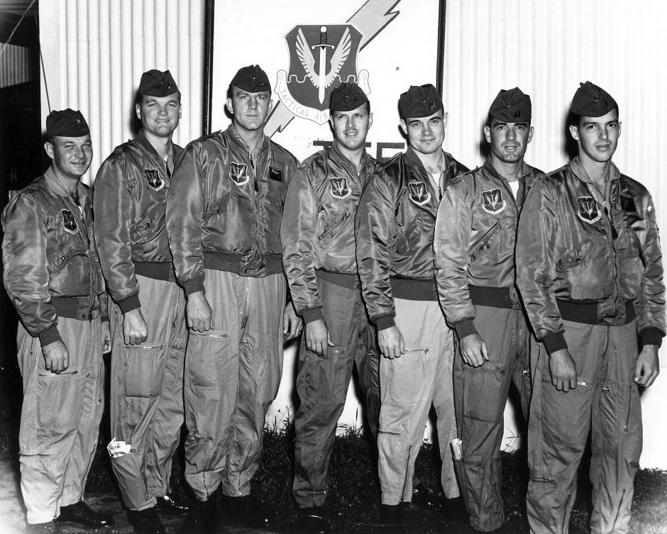 F-100 Pilots of 309th Tactical Fighter Squadron, 31st TFW, Itazuke Japan, 1962 (March 28th, 2013 entry)