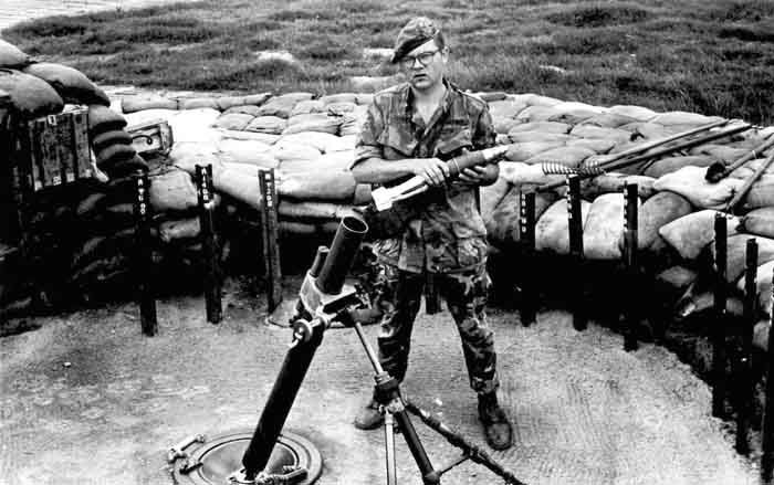 37th SPS 81mm mortar. Photo by Mikes Sipes, www.vspa.com
