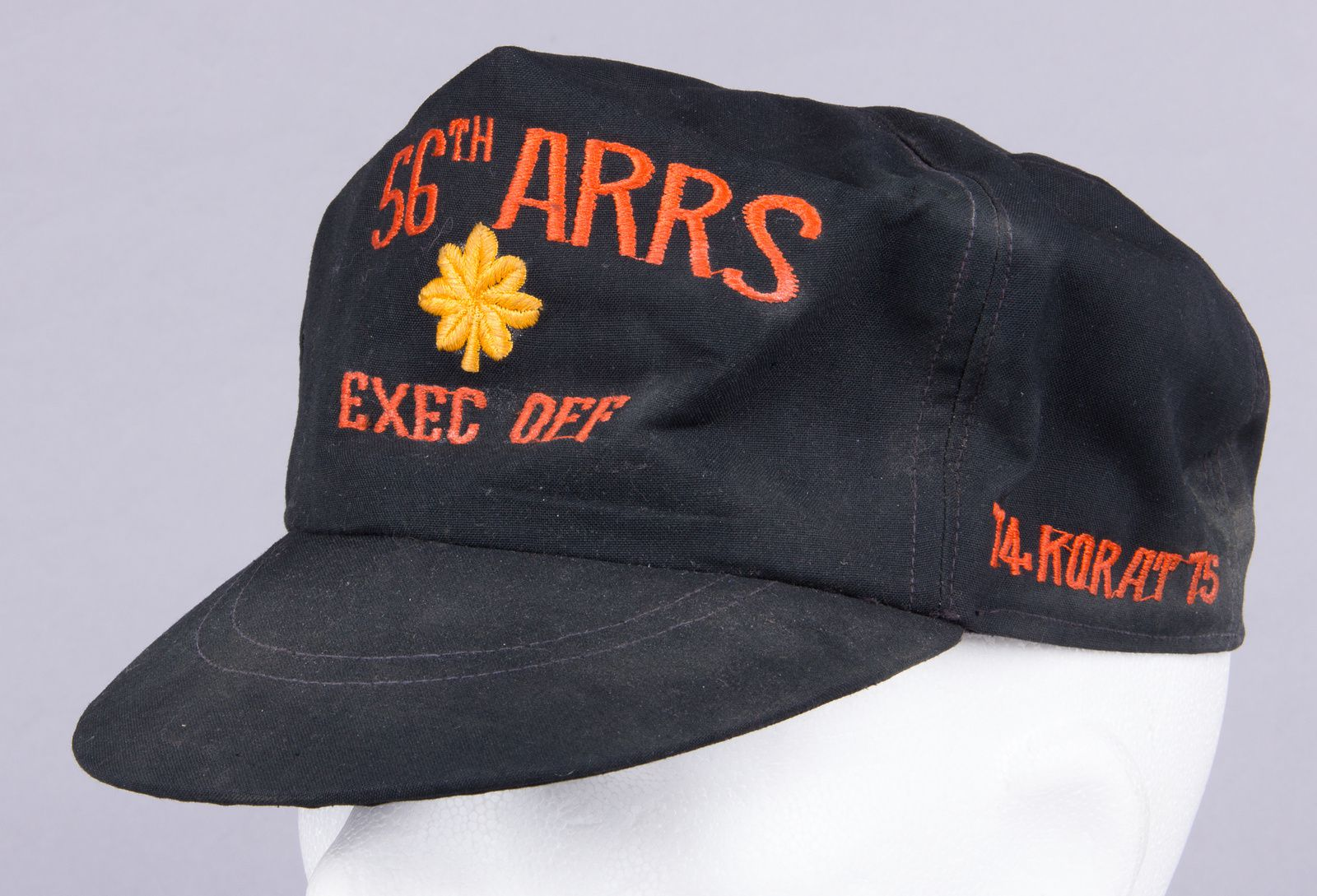 Maj. Michael was the Executive Officer of the squadron. The dusty local made cap had been packed with the uniform in a duffle bag since 1975.