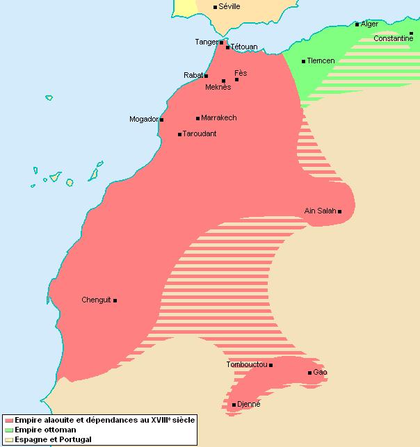 L'Empire Alaouite à son apogée