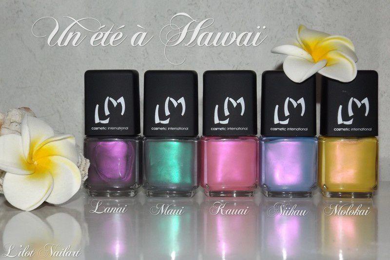 Un été à Hawaï_Lm Cosmetic