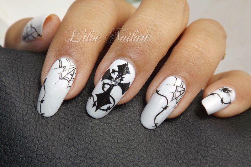 Halloween en noir et blanc