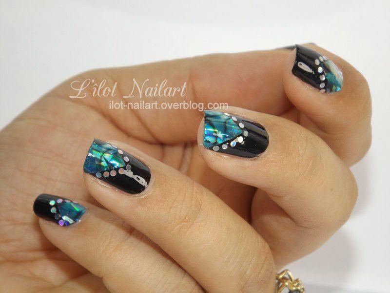 Nail art géométrique/stikers