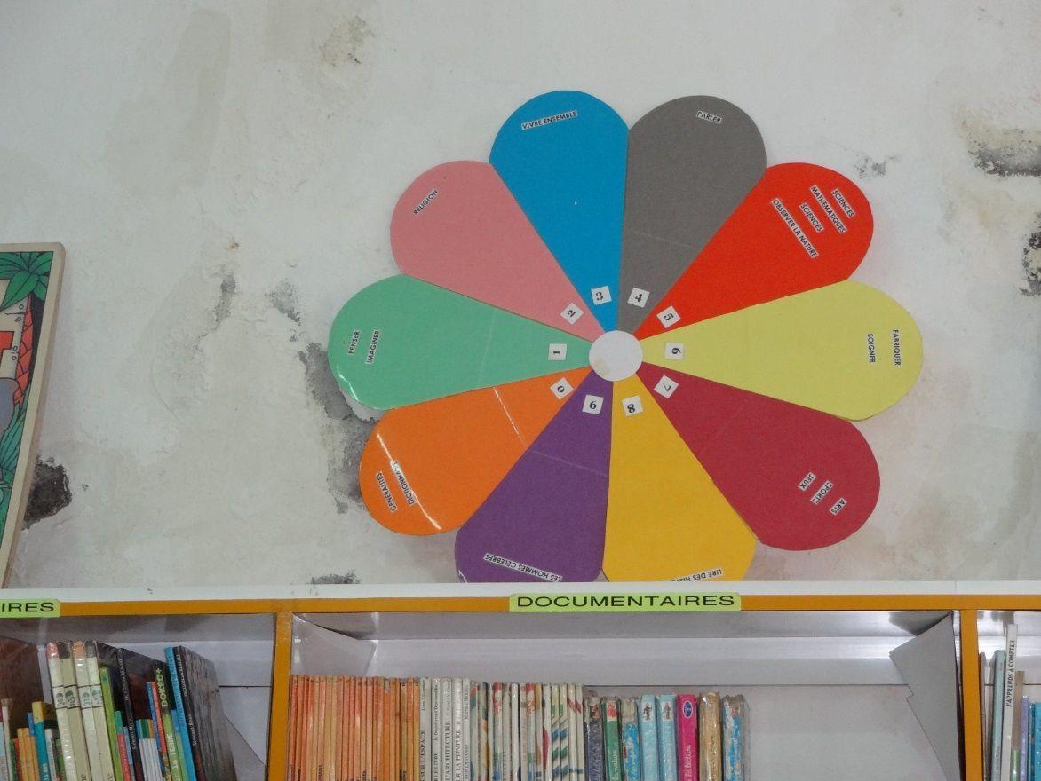 Les élèves de CE1 sont allés à la bibliothèque de Capesterre