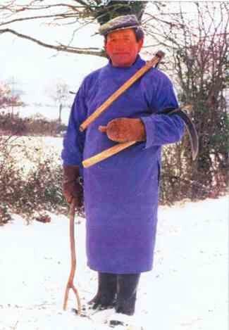 La tenue traditionnelle du plesseur