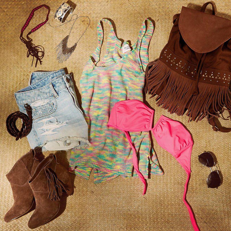 American Eagle Outfitters : summer-beachwear