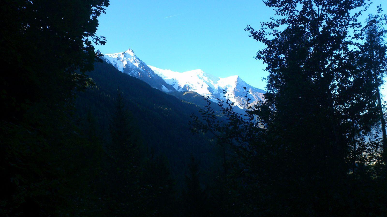 Quelques photos du séjour à Chamonix du 15 au 22/08