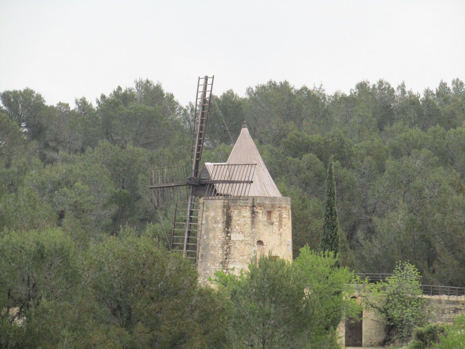 Fontvieille parcours des moulins