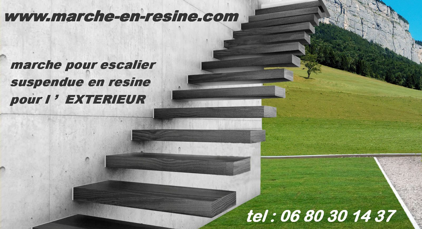 escalier suspendu pour jardin marche pour piscine floating steps suspendend steps by monolith. Black Bedroom Furniture Sets. Home Design Ideas