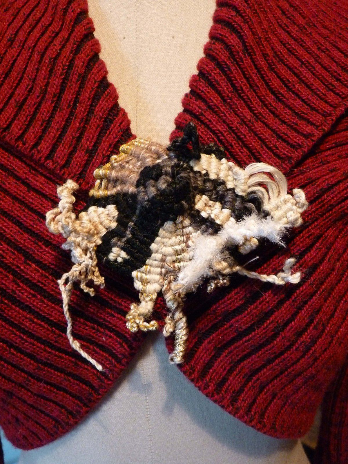 macramé photo J.Vétillard