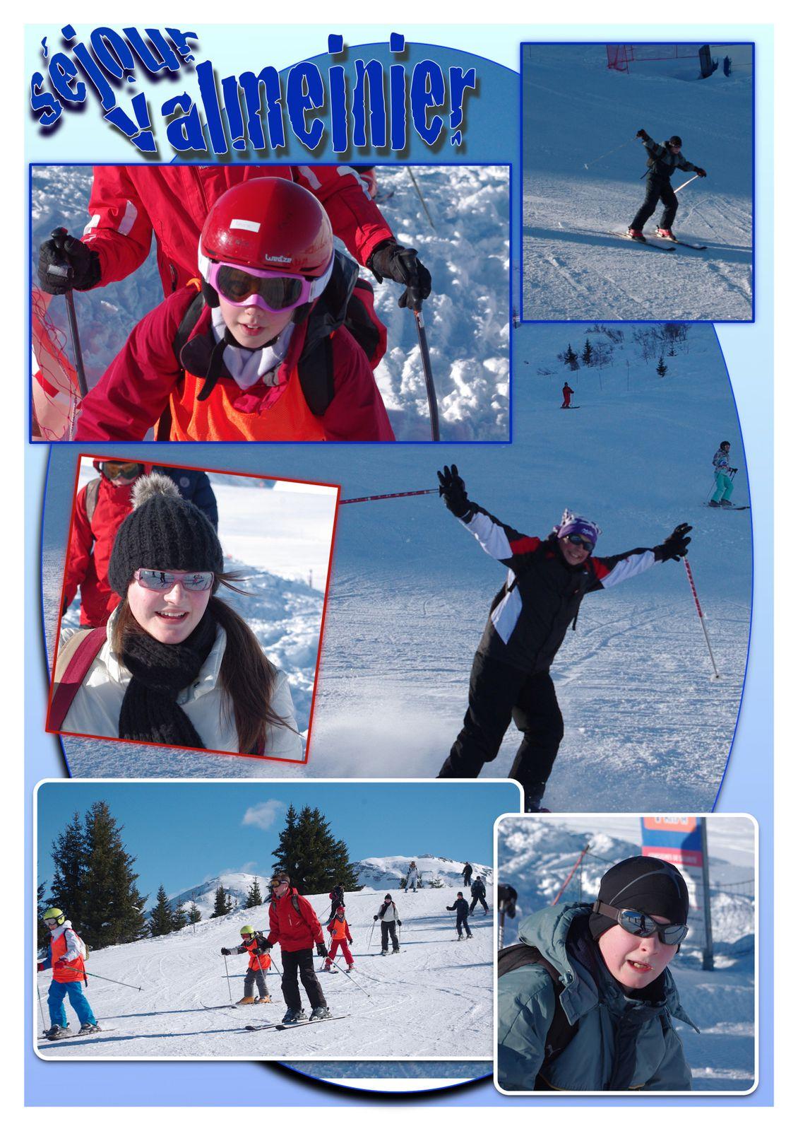 2013 - Séjour Ski / Snow à Valmeinier