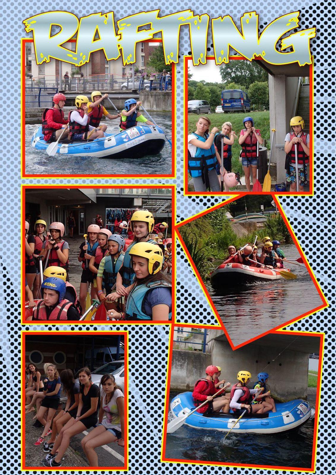 """Rafting pour les """"Sports & Découvertes et +"""