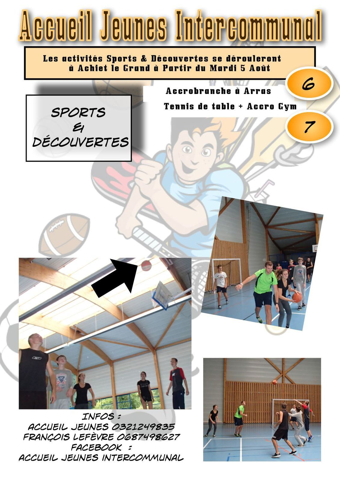 Sports & Découvertes à Achiet Le Grand