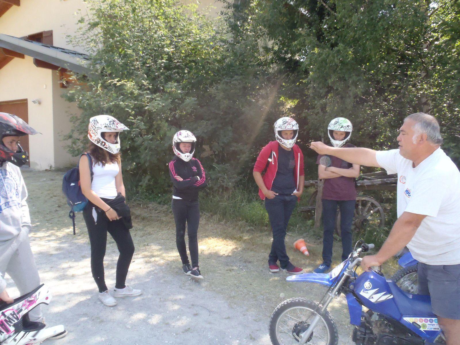 En route pour la moto !