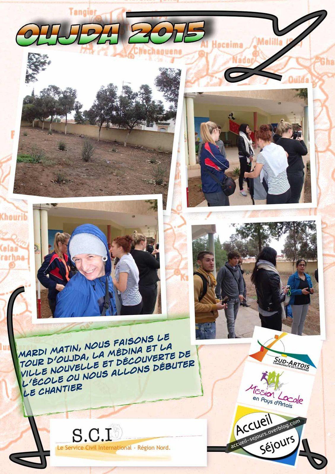 Mardi 20, notre première journée à Oujda