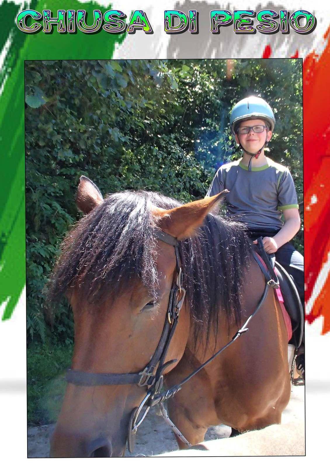 Après midi d'équitation pour le groupe des enfants