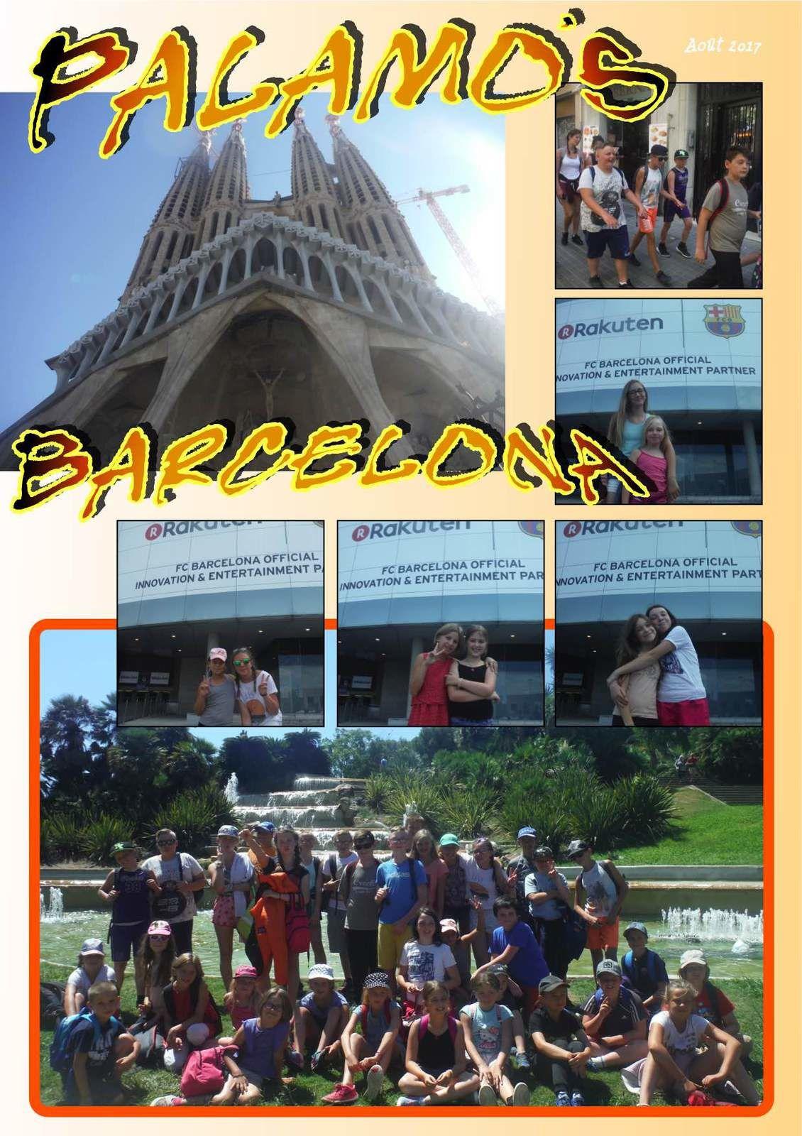 Barcelona - Enfants et Pré Ados - Samedi12 Août