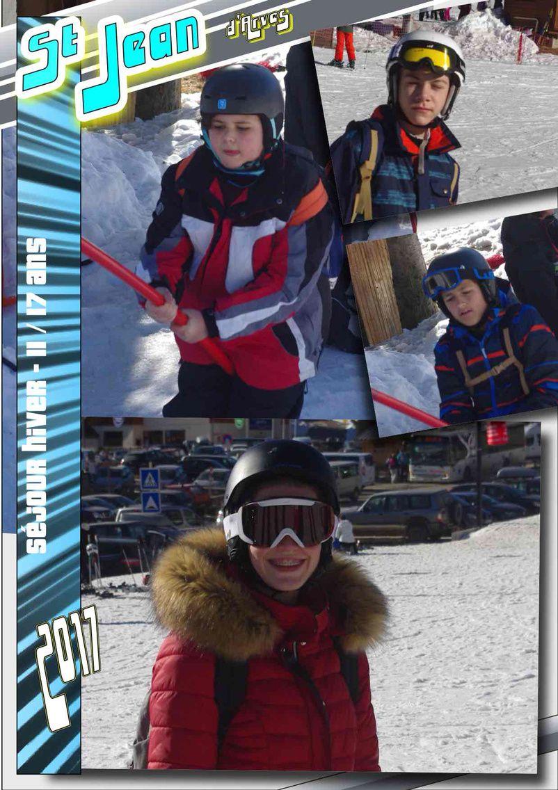 Lundi, 1ère journée de Ski/Snow