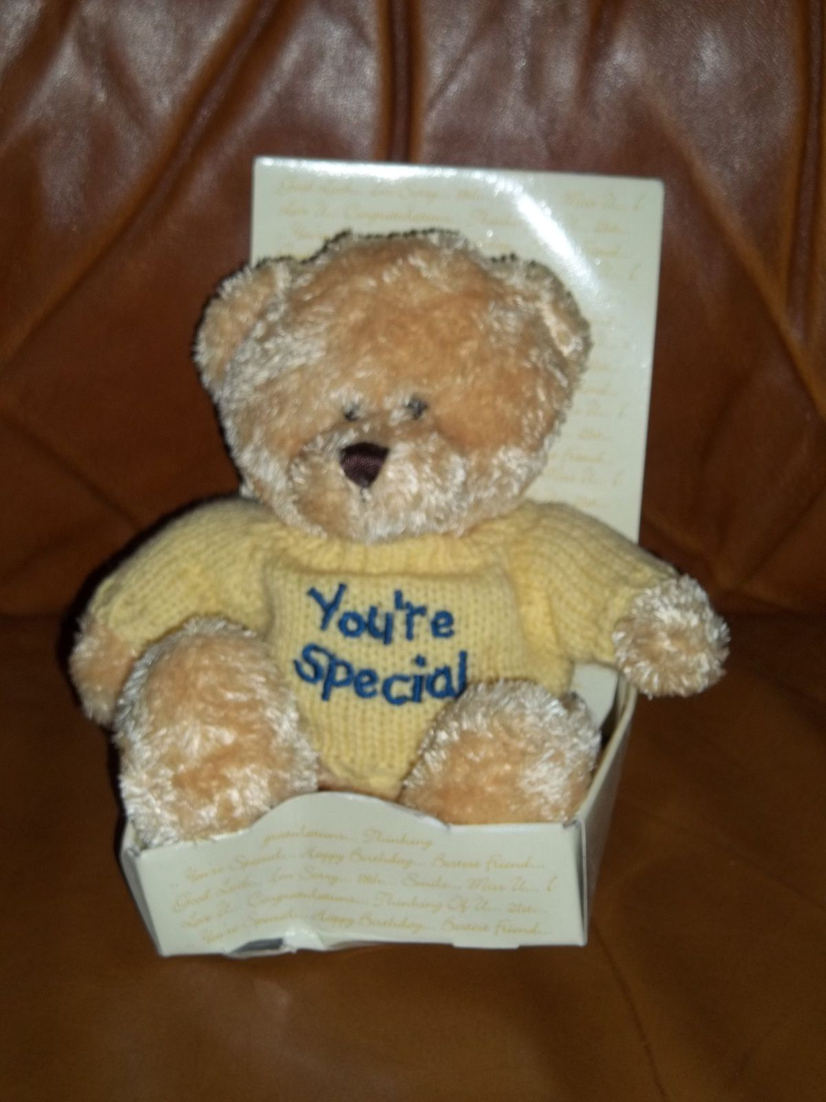 Peluche ours neuf - 5€