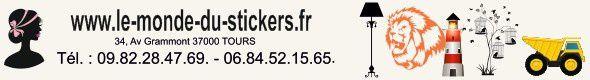 Découvrez la Boutique &quot&#x3B;Le Monde du Stickers&quot&#x3B; en ligne