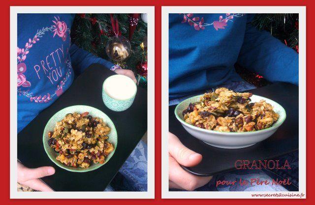 Granola pour le Père Noël &#x3B;-)
