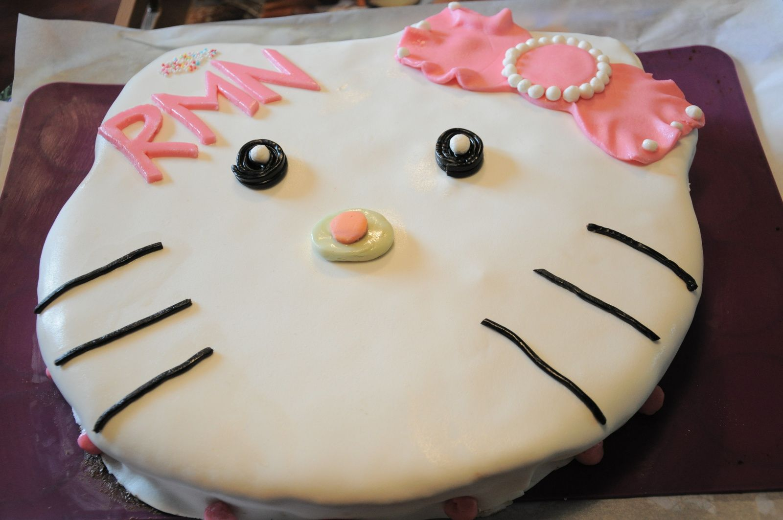 Gâteau Hello-Kitty