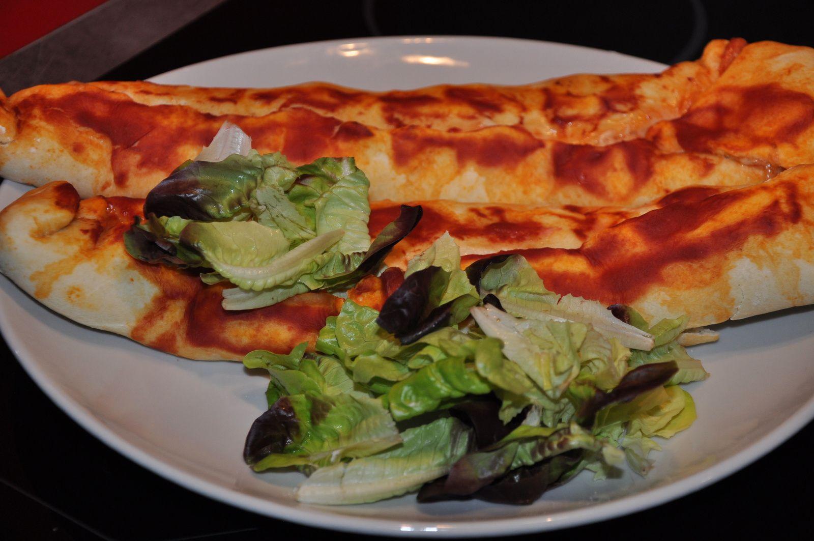 Autre photo de la pizza ficelle