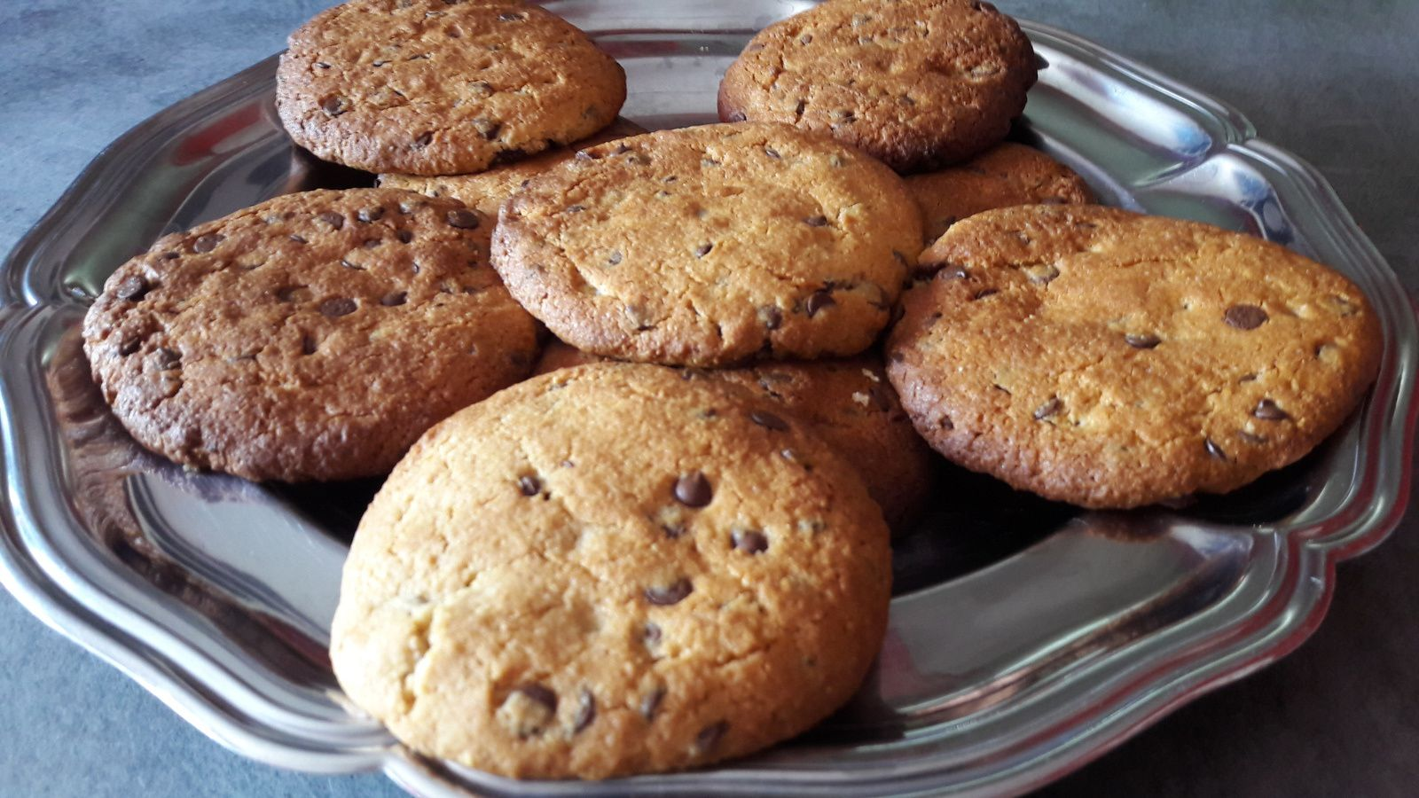 Cookies sans oeufs