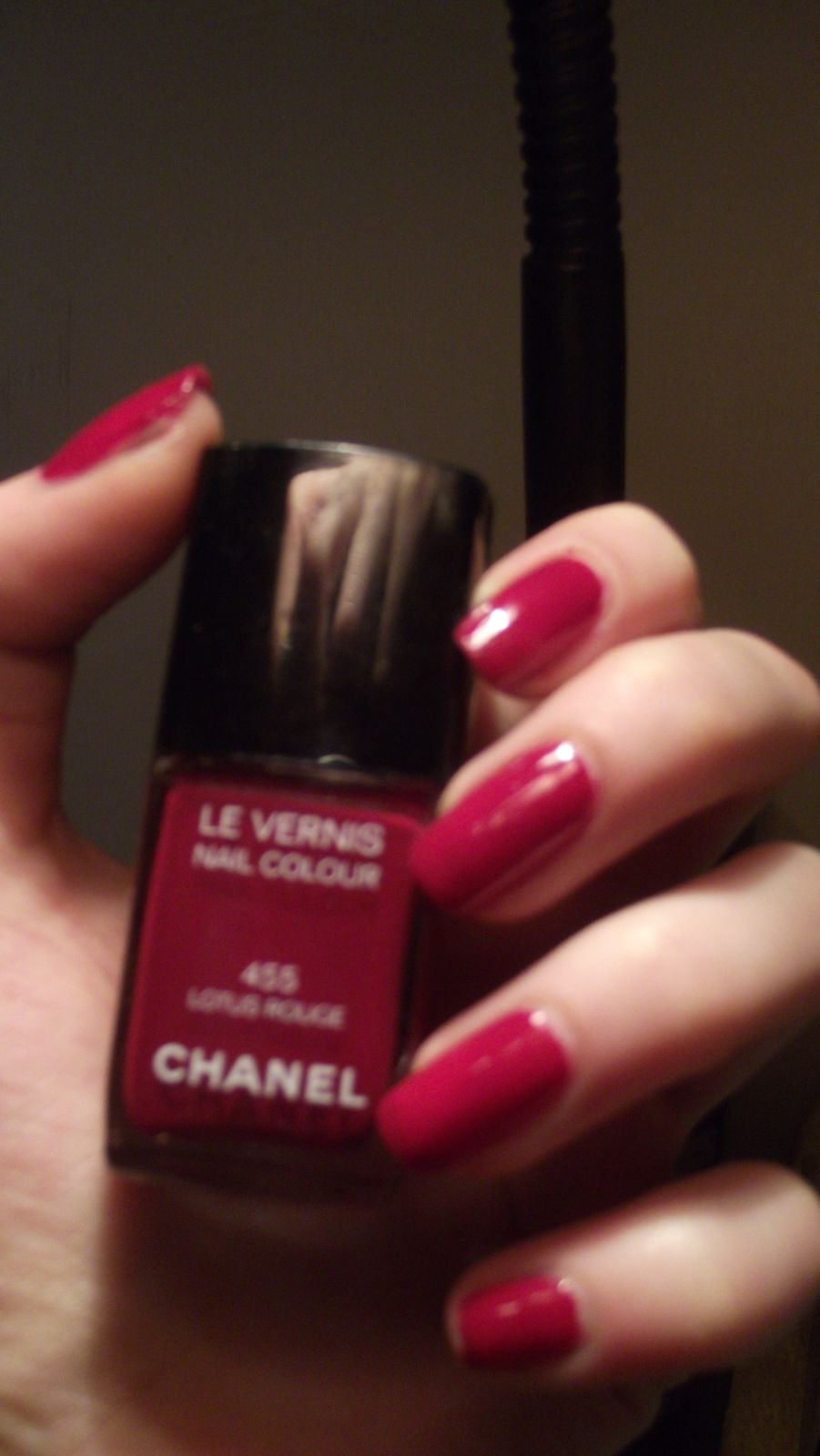 Swatch// Chanel lotus rouge