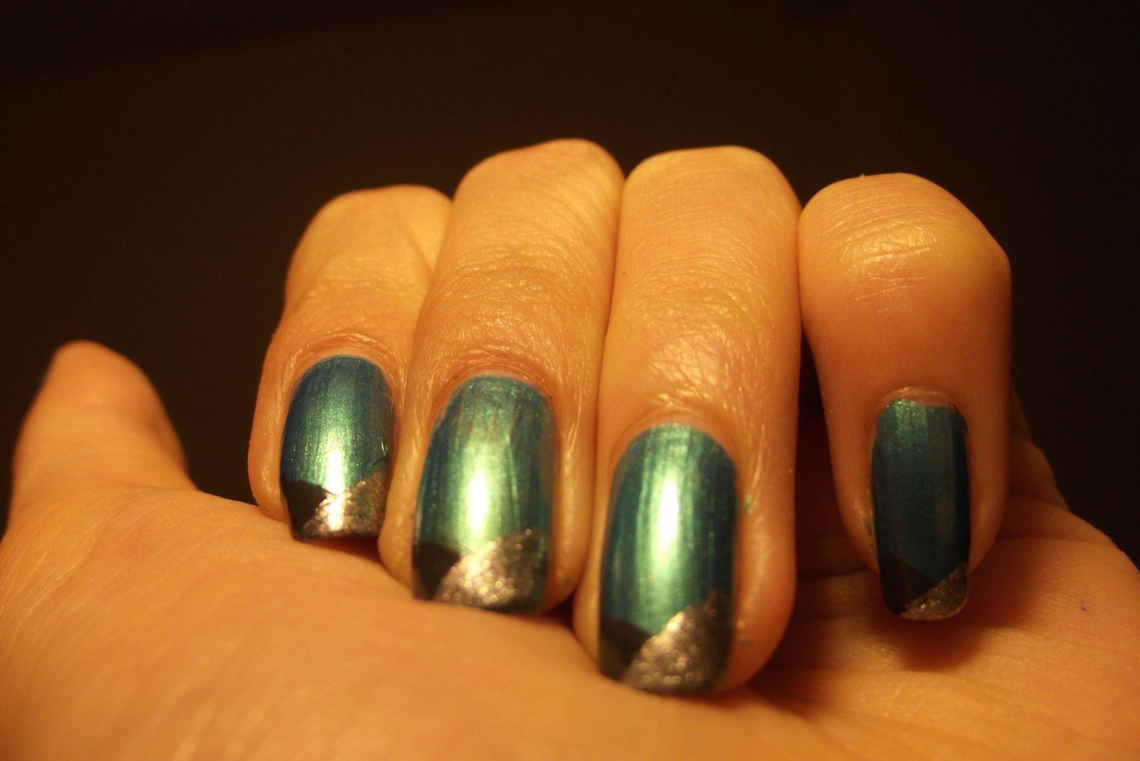 Nail art géometrique