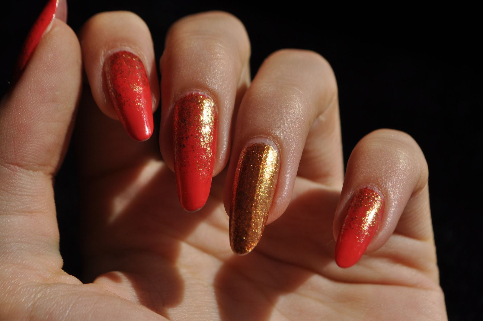[Nailstorming] Be Bold Go gold