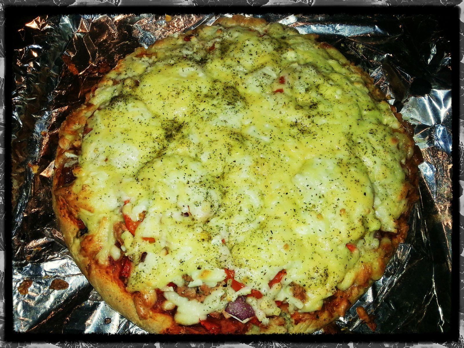 Pâte à pizza maison