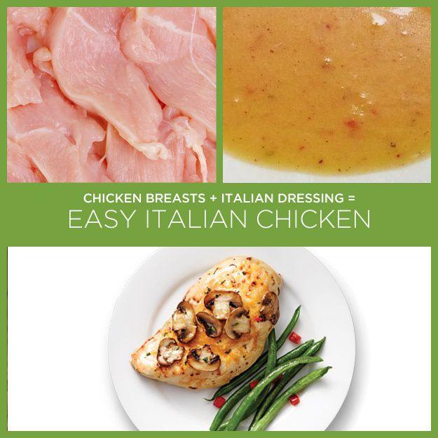 Filets de poulet Italian Style