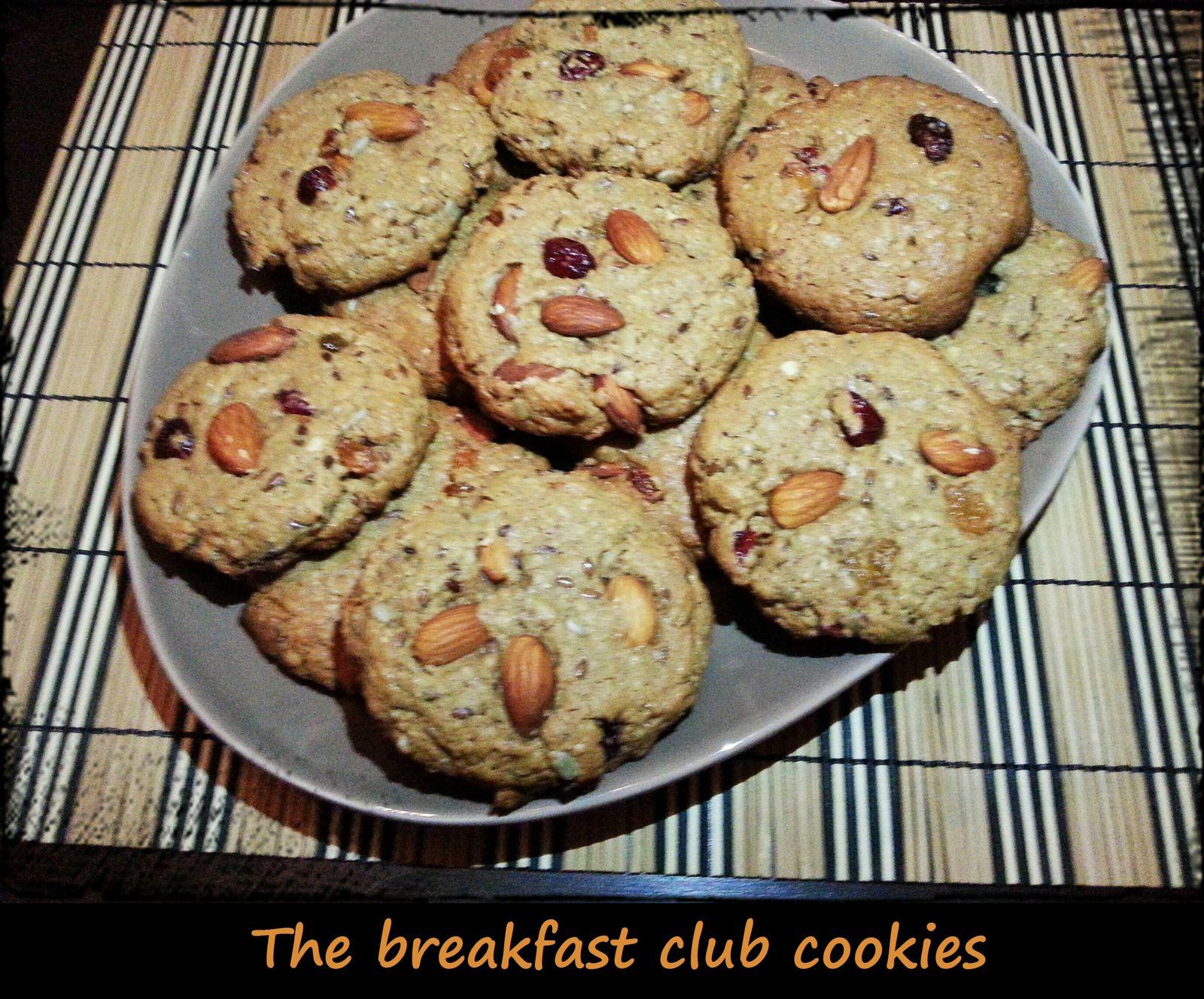 The breakfast club cookies