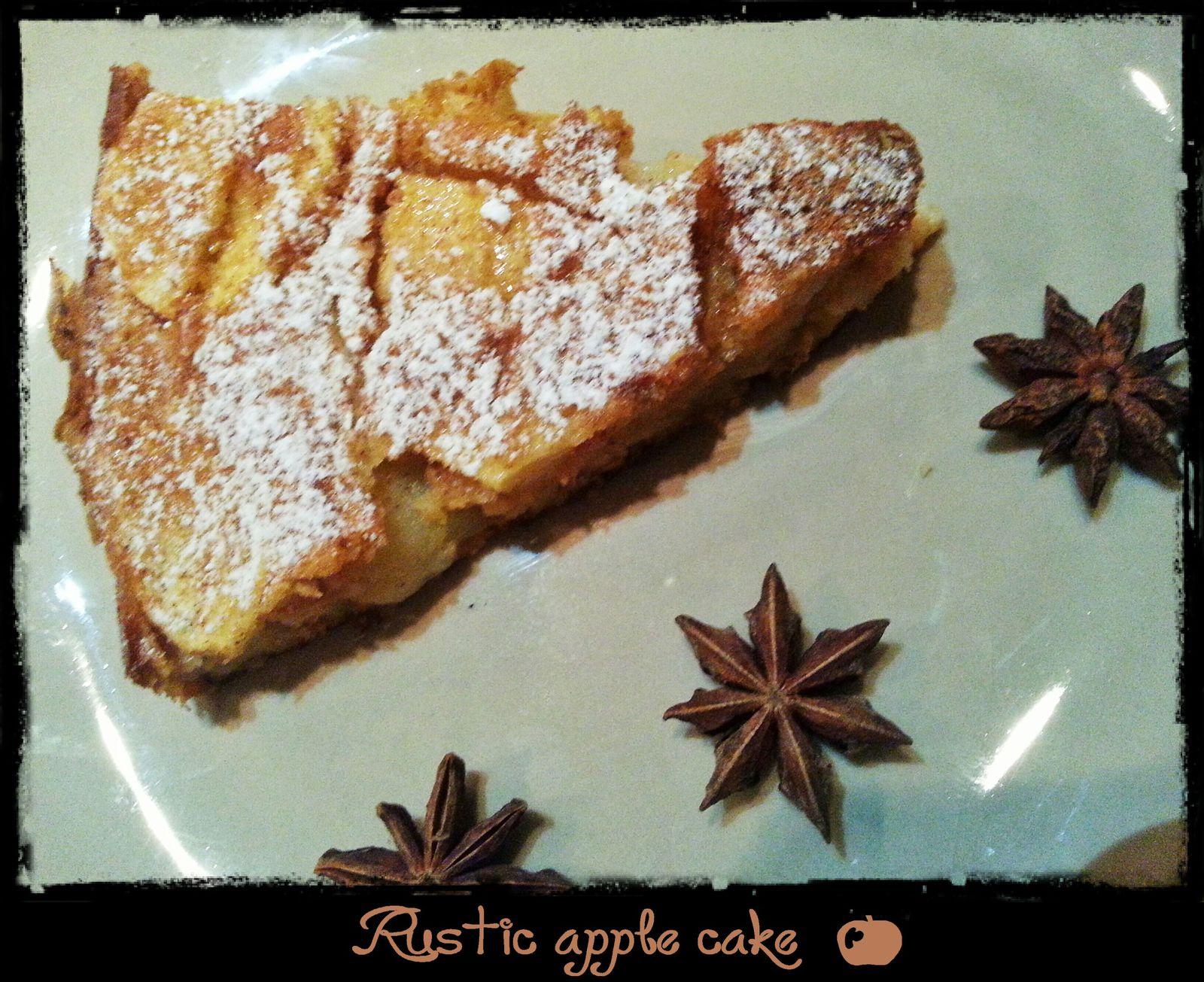 De la cannelle, des pommes : c'est l'automne avec le rustic apple cake