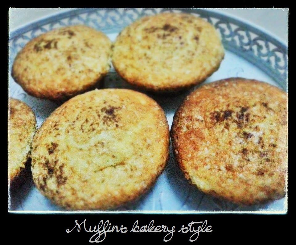 Muffins Bakery Style
