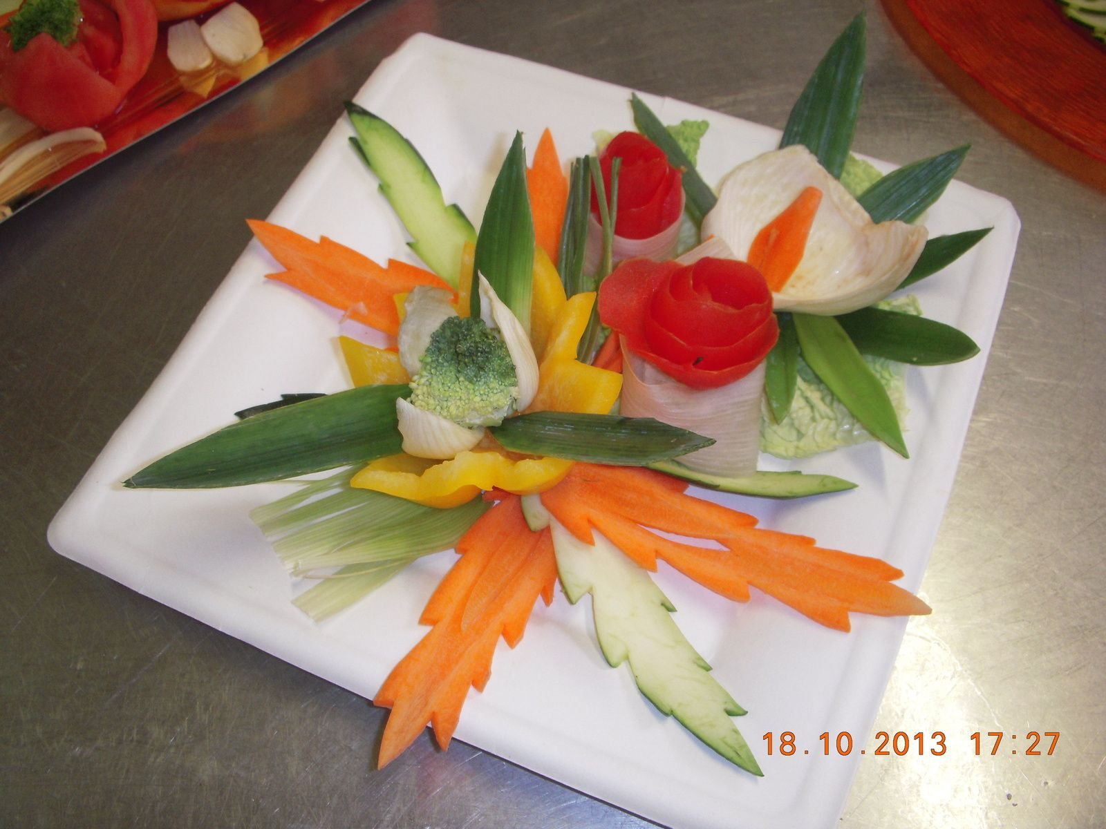 fleur de l gumes pour buffet placards gourmands