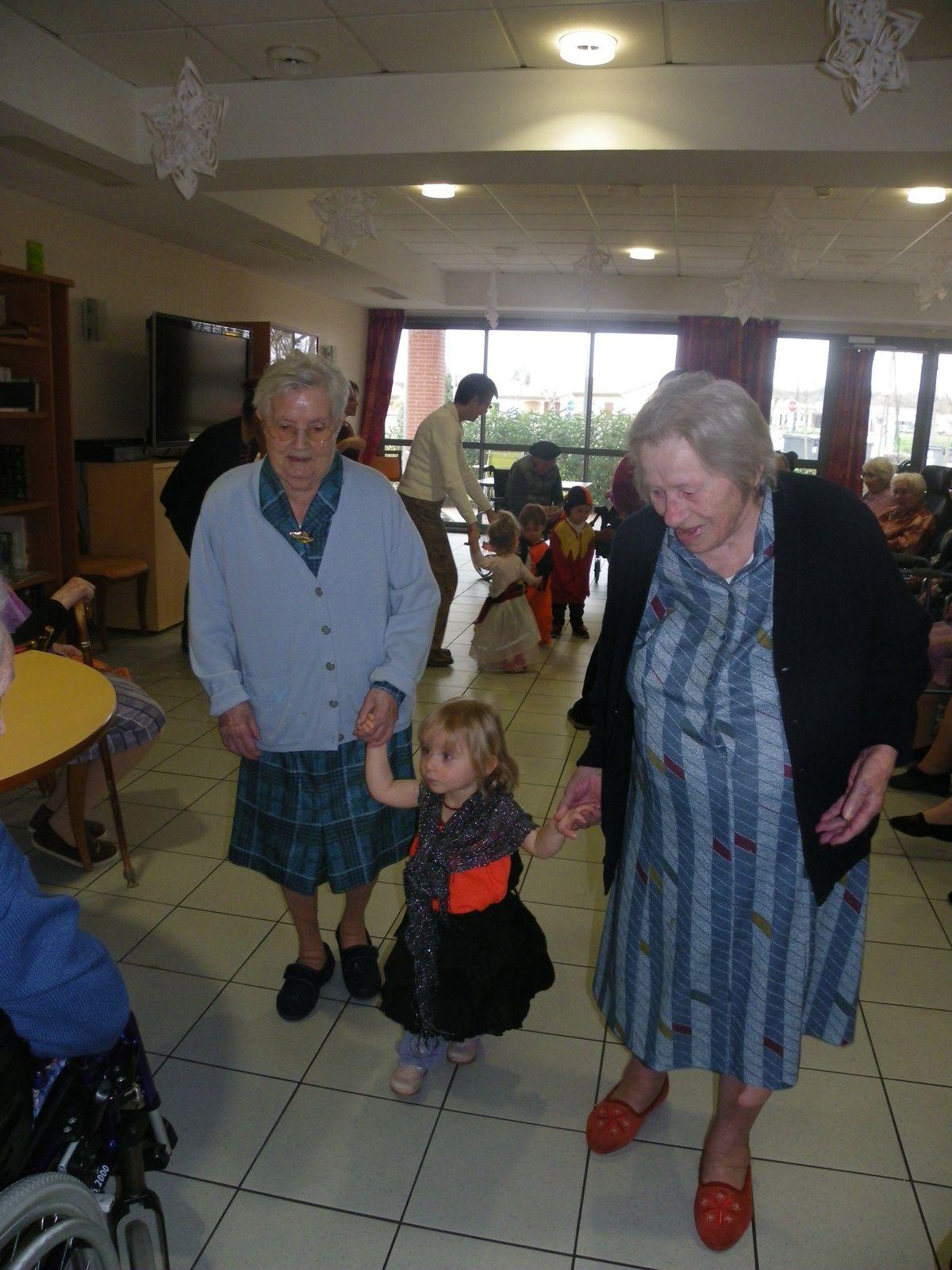 Visite des enfants de la crèche