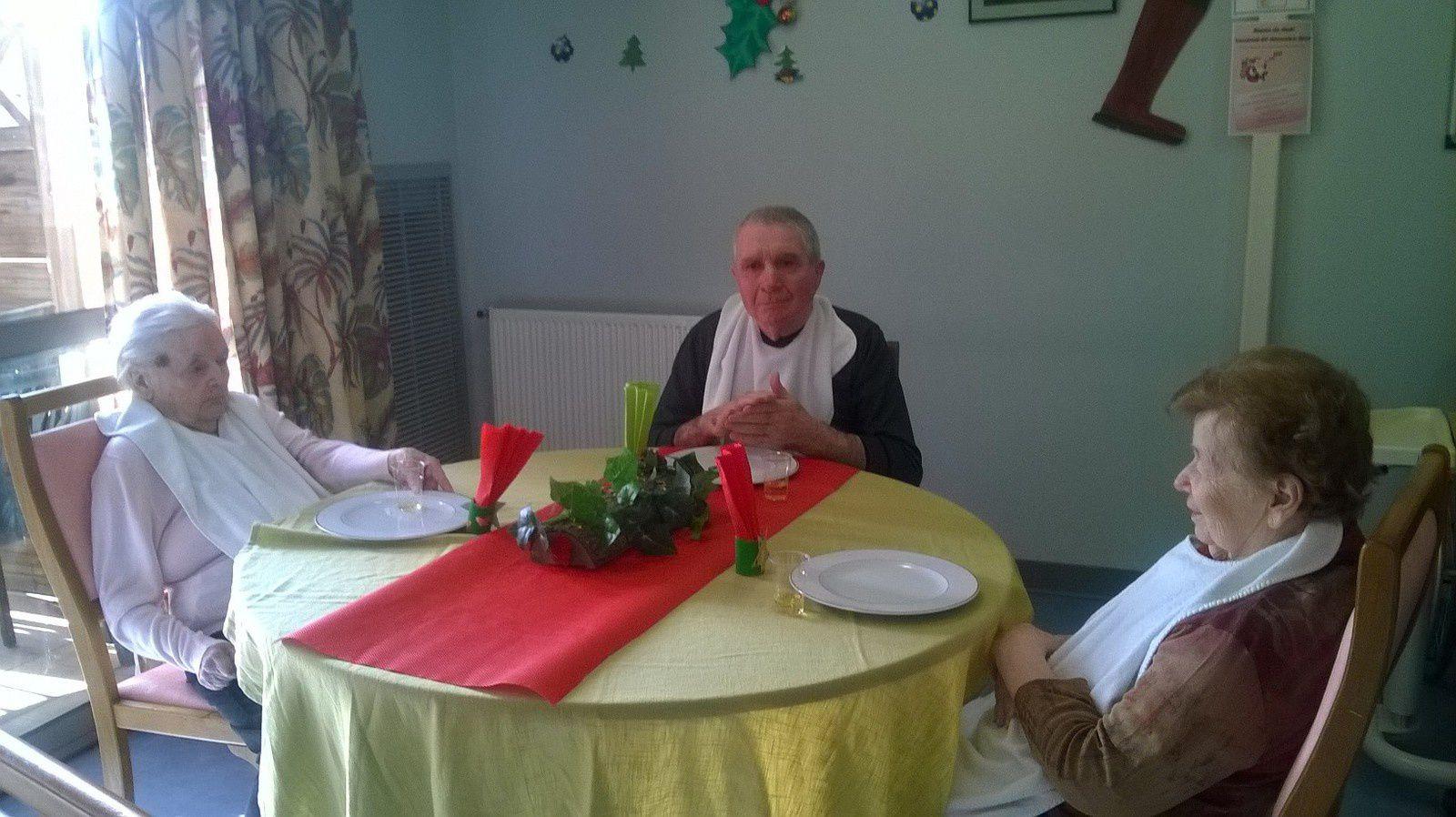Les tables de Noël du Cantou