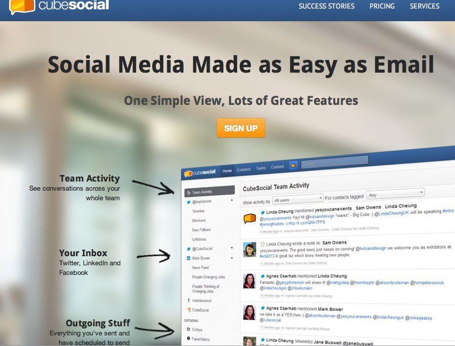 Cube Social Screenshot