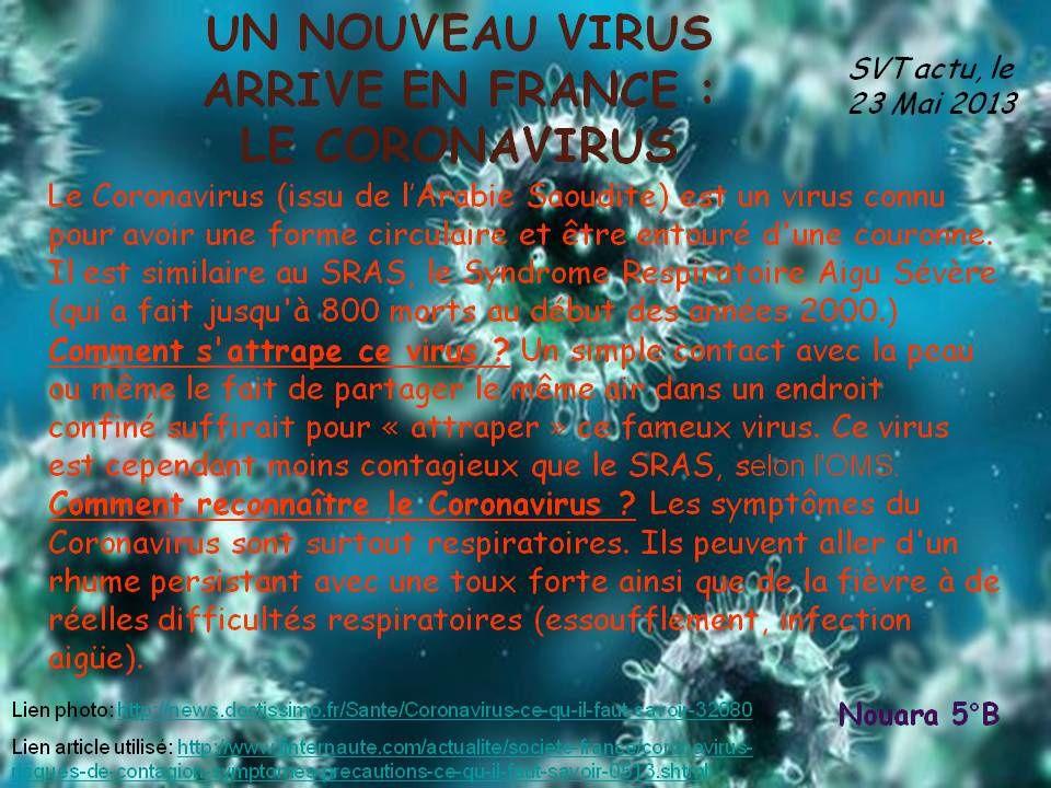 un nouveau virus