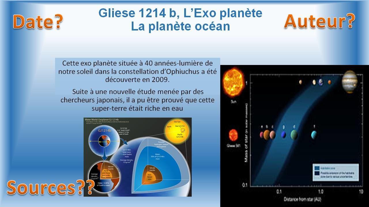 structure mystérieuse / exo planète
