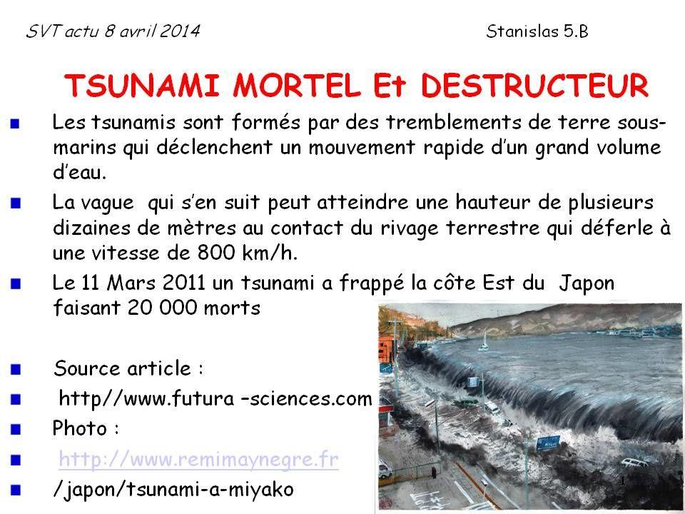 smartphone/ Tsunami