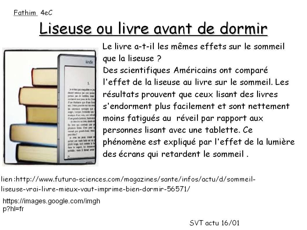 Liseuse ou livre?