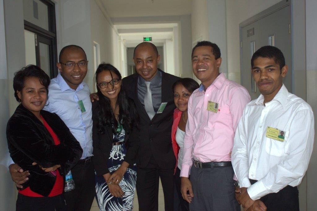 photos de fin soutenance MBA 18