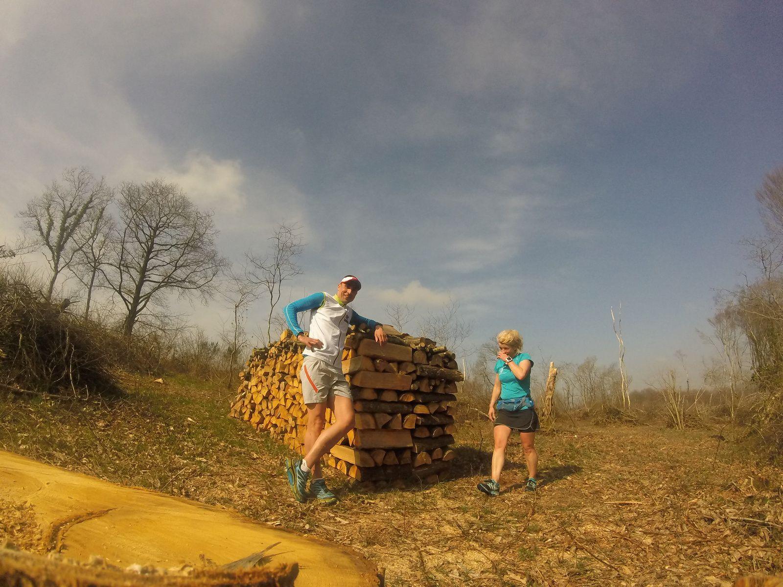 Objectif X'Trem Breizh (Swim, Bike and Run For AAD)... samedi 25 mars... (S11) footing trail en compagnie de MAK... Au total: 19.12kms en 1h57min11s/ vitesse moyenne: 09.80km/h / Dénivelé + 328m - 335m... @suivre