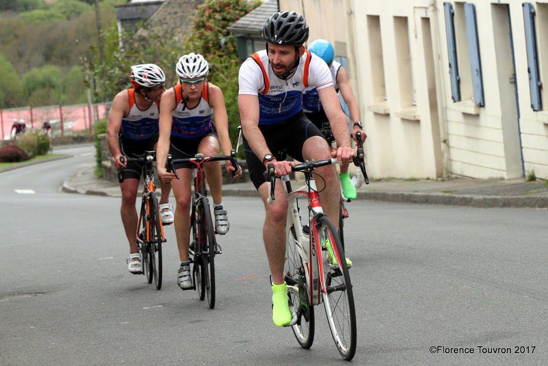Objectif X'Trem Breizh (Swim, Bike and Run For AAD)... lundi 17 avril... (S15) Duathlon Lampaul-Guimiliau en équipe (2ème équipe mixte)... @suivre