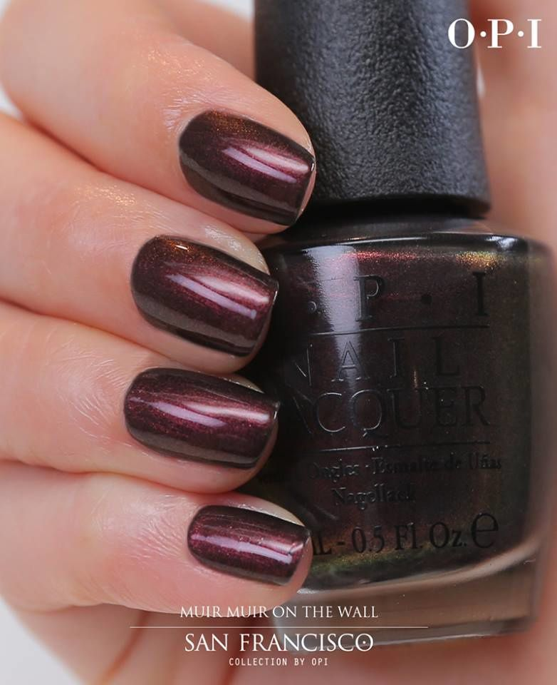 Muir Muir on the wall by OPI